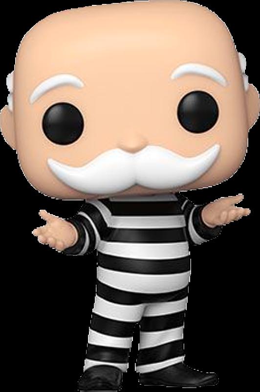 Monopoly - Criminal Uncle Pennybags Pop! Vinyl Figure