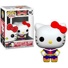 Animation- Sanrio / My Hero Academia - Hello Kitty as All Might Pop Vinyl Figure​