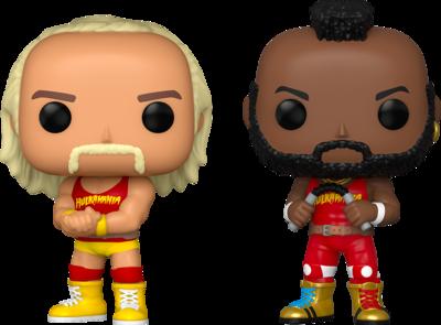 WWE - Hulk Hogan & Mr. T Pop! Vinyl Figure 2-Pack