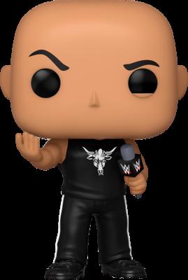 WWE - The Rock with Microphone Pop! Vinyl Figure