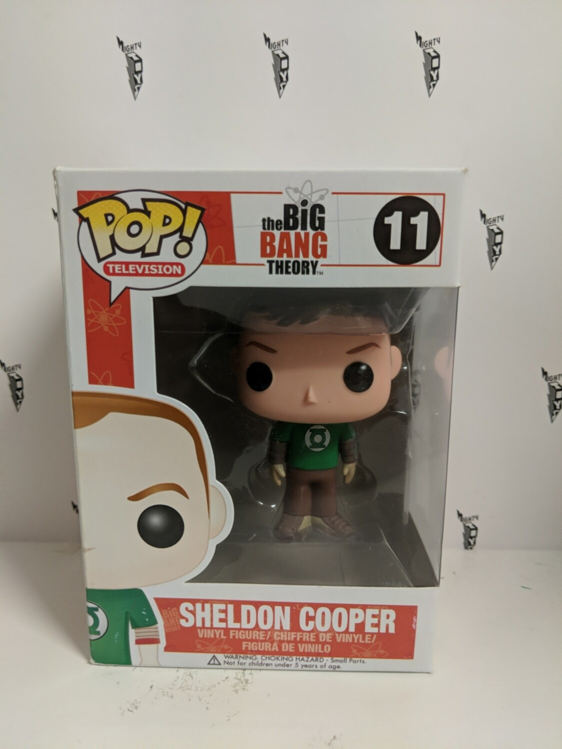The big bang theory- Sheldon Cooper Pop! Vinyl