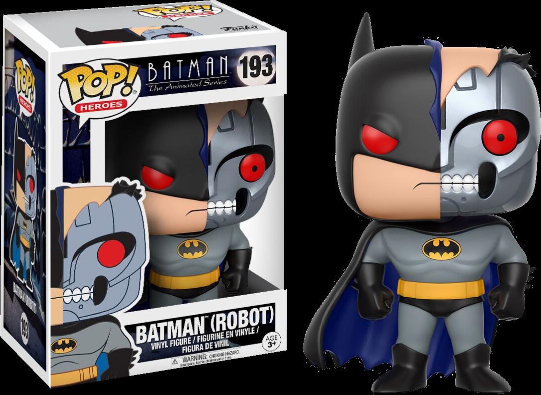 Batman: The Animated Series - Robot Bat Pop! Vinyl Figure