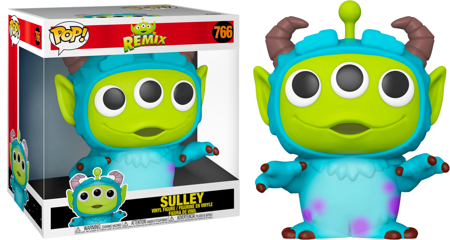 "​Pixar - Alien Remix Sulley 10"" Pop! Vinyl Figure"
