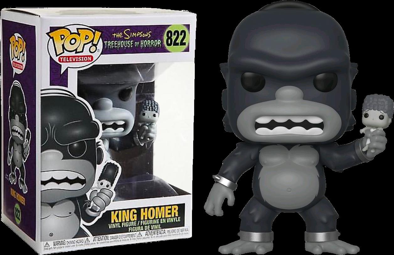 The Simpsons - King Kong Homer Pop! Vinyl Figure