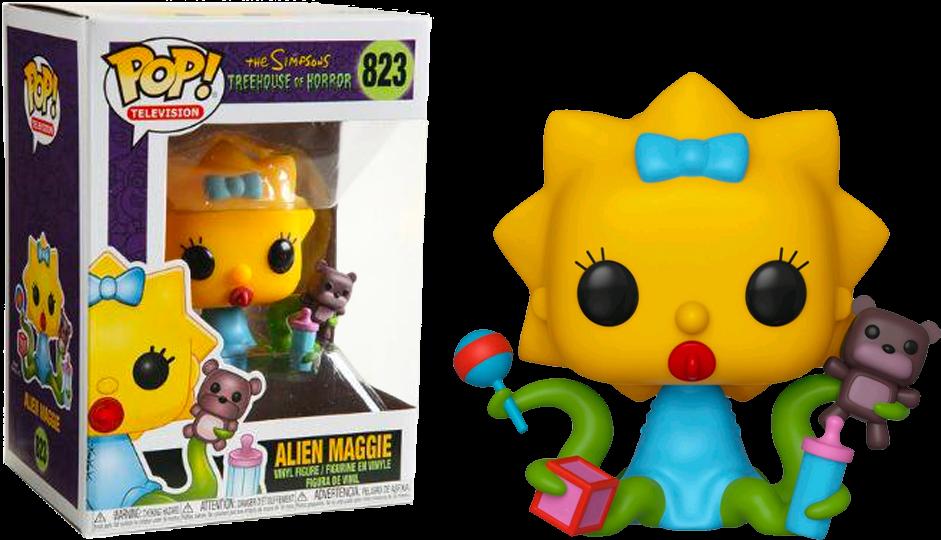 The Simpsons - Maggie as Alien Pop! Vinyl Figure