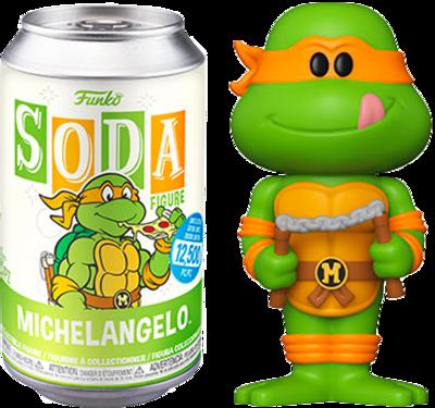 Teenage Mutant Ninja Turtles - Michelangelo Vinyl SODA Figure in Collector Can