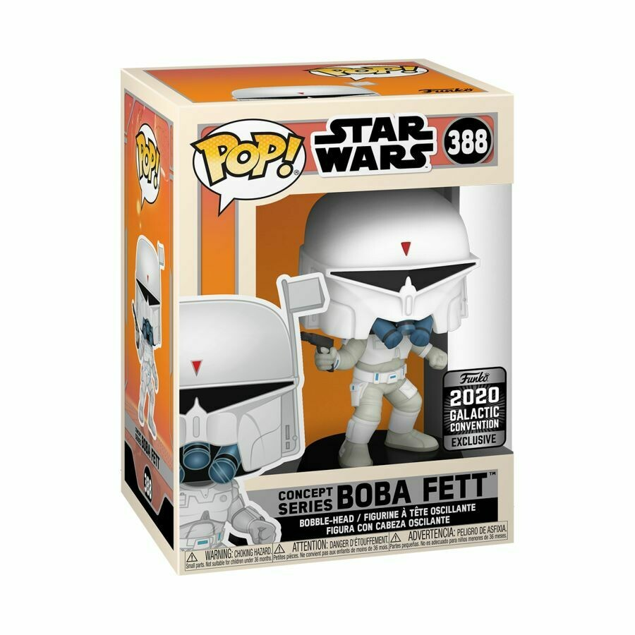 Star Wars - Boba Fett McQuarrie Concept Star Wars Celebration US Exclusive Pop! Vinyl