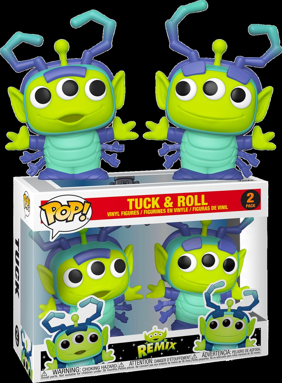 Pixar - Alien Remix Tuck & Roll Pop! Vinyl Figure 2-Pack