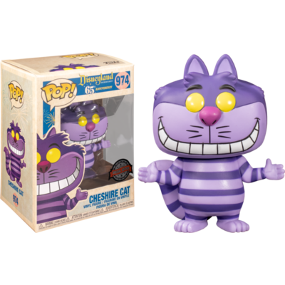 Alice in Wonderland - Cheshire Cat Disneyland 65th Anniversary Pop! Vinyl Figure