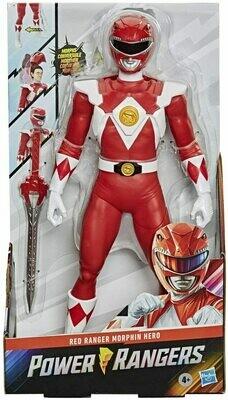 Hasbro Power Rangers- 12 inch Red Ranger Morphin Red Power Ranger