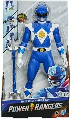Hasbro Power Rangers- 12 inch Red Ranger Morphin Blue Power Ranger