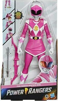 Hasbro Power Rangers- 12 inch Red Ranger Morphin Pink Power Ranger