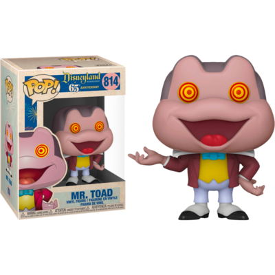 The Adventures of Ichabod and Mr. Toad - Mr. Toad with Spinning Eyes Disneyland 65th Anniversary Pop! Vinyl Figure