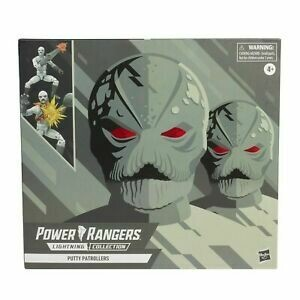 Hasbro Mighty Morphin Power Rangers- Putty Patrol 2 pack Lightning Figure
