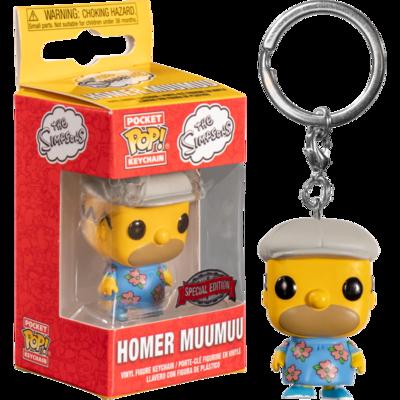 The Simpsons - Homer in Muumuu Pocket Pop! Vinyl Keychain