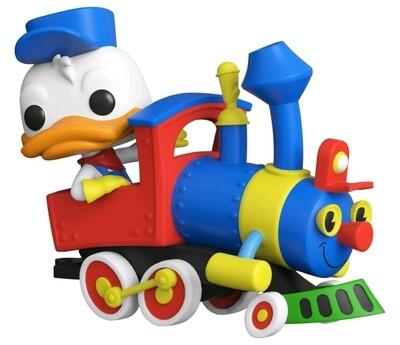 Disneyland 65th Anniversary - Donald in Train Engine Pop! Vinyl