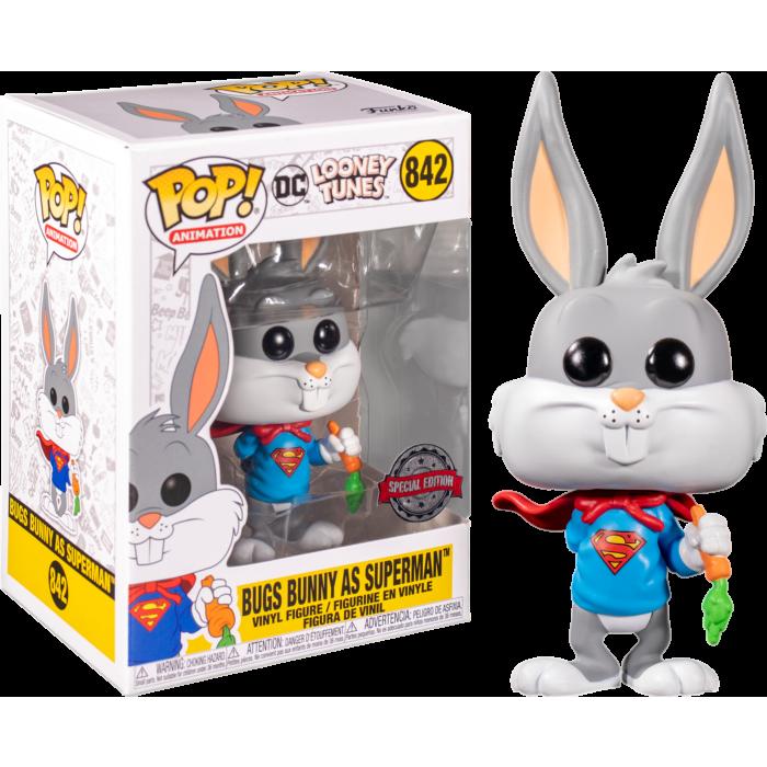 Looney Tunes - Super Bugs Bunny 80th Anniversary Pop! Vinyl Figure
