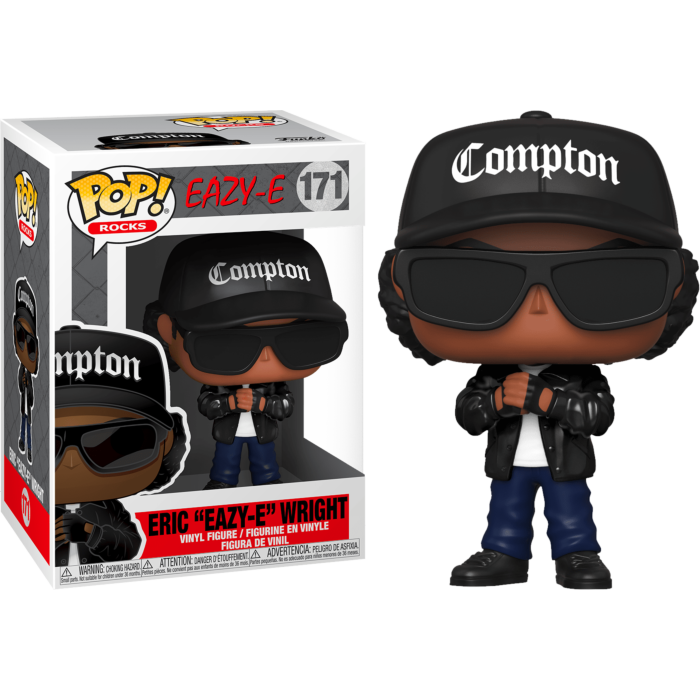"Eazy-E - Eric ""Eazy-E"" Wright Pop! Vinyl Figure"