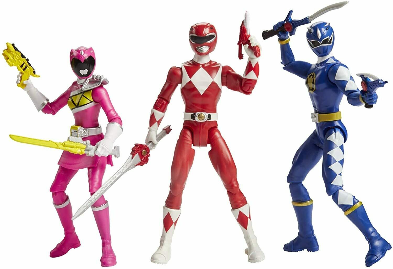 "Hasbro Power Rangers Dino Special Rangers 6"" 3 pack"