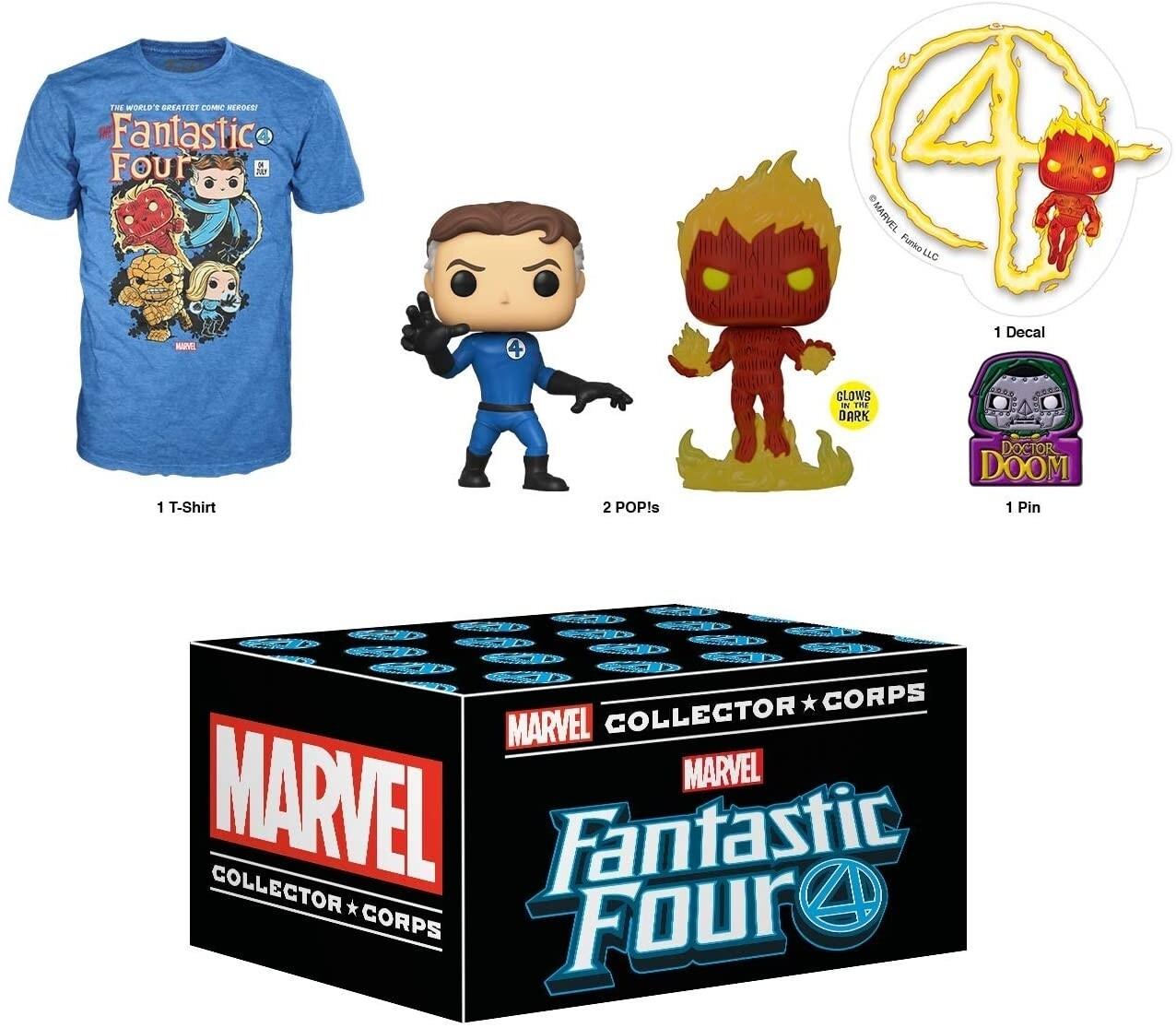 Funko Marvel Collector Corps Box Fantastic Four