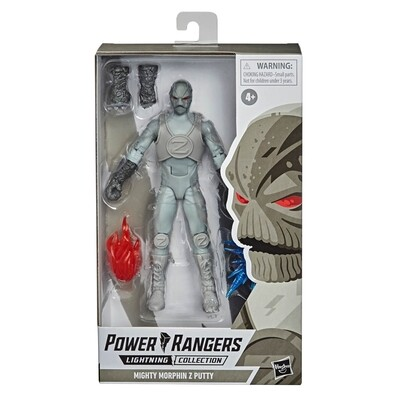 Hasbro Power Rangers Lightning Collection Zeo Z Putty 6-Inch Premium Collectible Action Figure