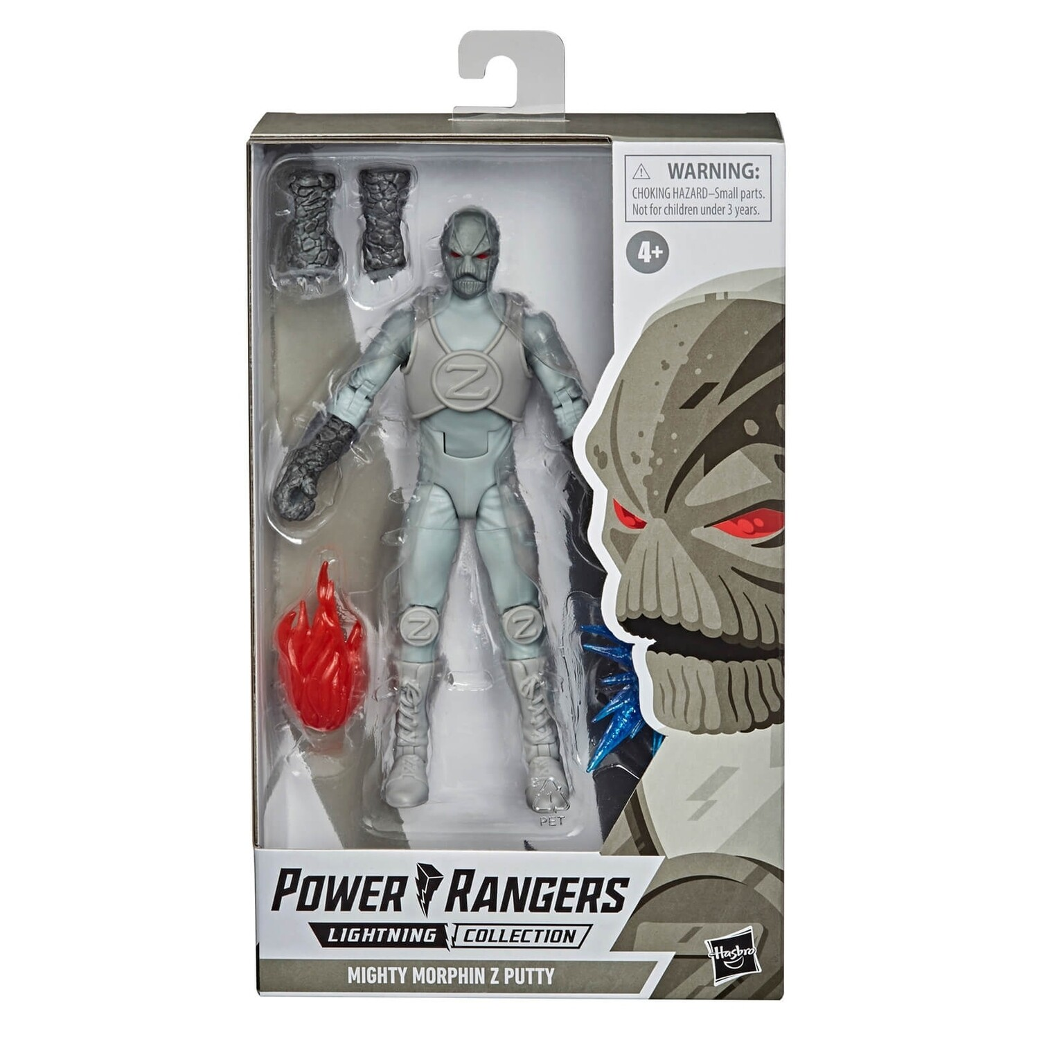 Pre-Order: Hasbro Power Rangers Lightning Collection Zeo Z Putty 6-Inch Premium Collectible Action Figure