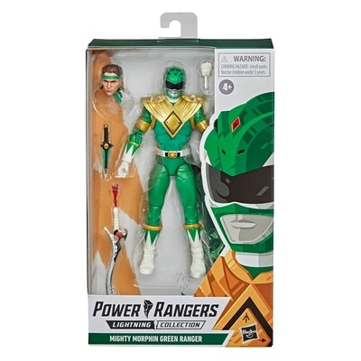 Pre-Order (Returning): Hasbro Power Rangers Lightning Collection Mighty Morphin Green Ranger Action Figure