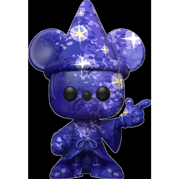Fantasia - Sorcerer Mickey Blue Artist Series 80th Anniversary Pop! Vinyl Figure with Pop! Protector