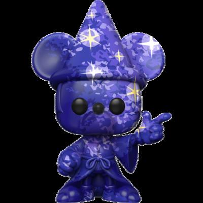 Pre-Order: Fantasia - Sorcerer Mickey Blue Artist Series 80th Anniversary Pop! Vinyl Figure with Pop! Protector