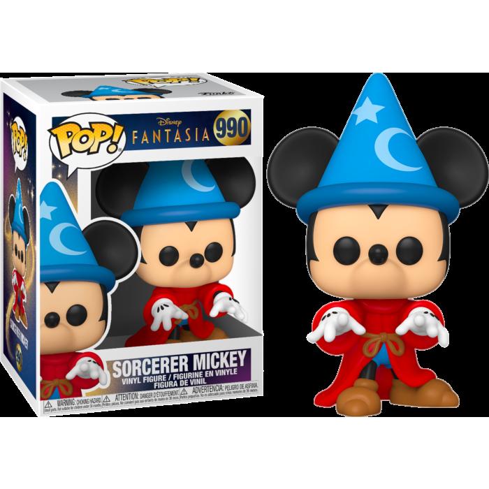 Fantasia - Sorcerer Mickey 80th Anniversary Pop! Vinyl Figure