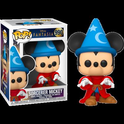 Pre-Order: Fantasia - Sorcerer Mickey 80th Anniversary Pop! Vinyl Figure