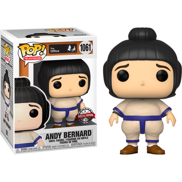 The Office - Andy Bernard in Sumo Suit Pop! Vinyl Figure