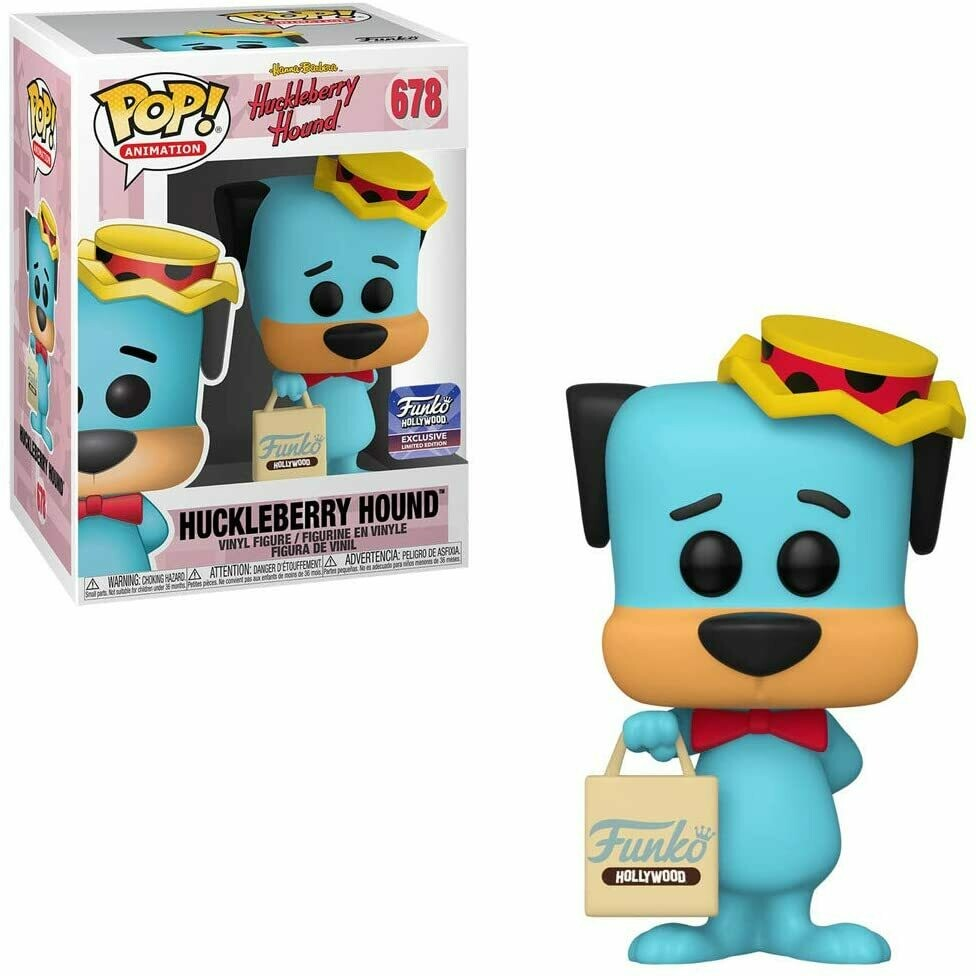 Funko Hollywood- Huckleberry Hound with F. Hollywood Bag Grand Opening Limited Edition Exclusive