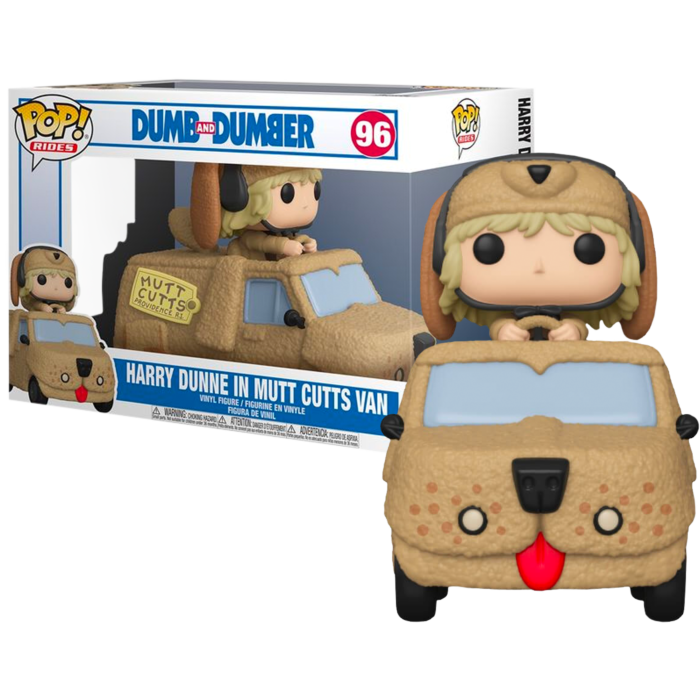 Pre-Order: Dumb and Dumber - Harry Dunne with Mutt Cutts Van Pop! Rides Vinyl Figure