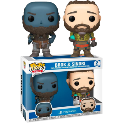 God of War (2018) - Broc & Sindri Pop! Vinyl Figure 2-Pack