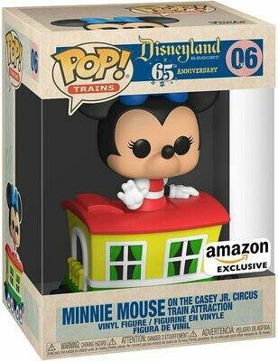 Disneyland 65th Anniversary - Minnie Train Carriage US Exclusive Pop! Vinyl (Amazon Sticker)