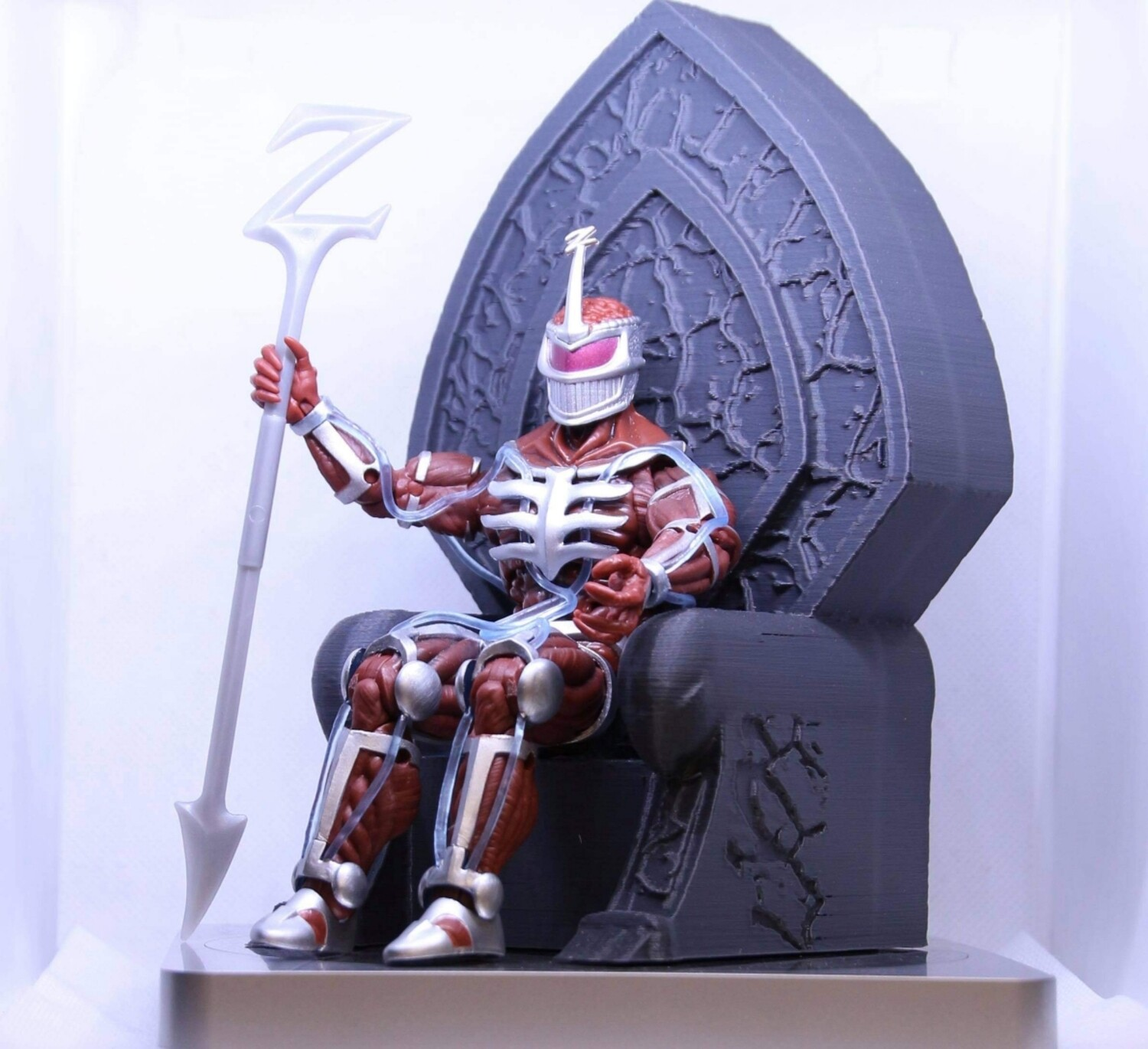 Lord Zedd Throne to fit Lightning figure