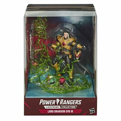 Hasbro Power Rangers Lightning Collection Mighty Morphin Lord Drakkon EVO III Figure