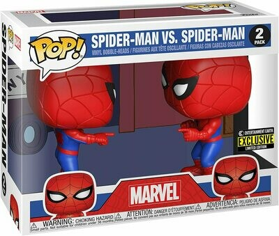 Pre-Order: Funko POP Spider-Man Imposter Double Identity Special Edition