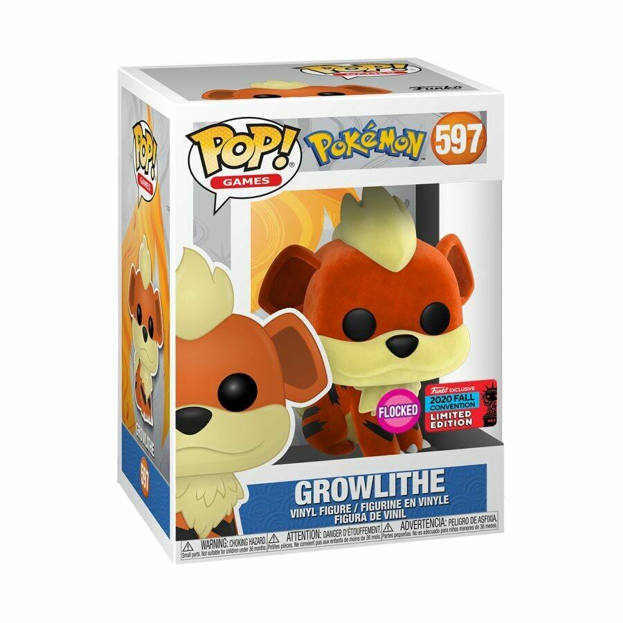 Pokemon- growlithe pop Vinyl Figure NYCC 2020