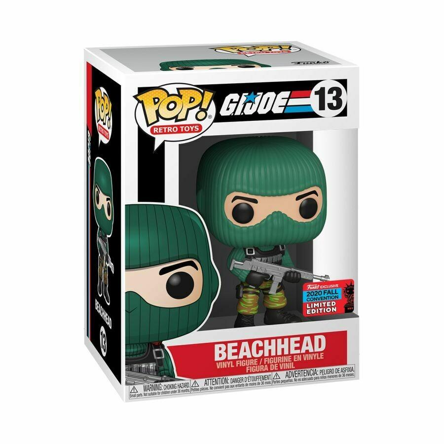G.I. Joe - Beach Head NYCC 2020 US Exclusive Pop! Vinyl Figure