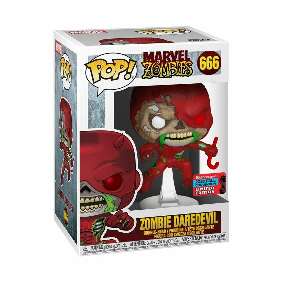 Marvel Zombies - Daredevil NYCC 2020 US Exclusive Pop! Vinyl Figure