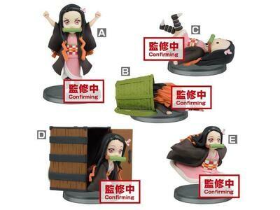 PRE-ORDER: Demon Slayer: Kimetsu no Yaiba World Collectable Figure Nezuko Kamado Boxed Set of 6 Figures