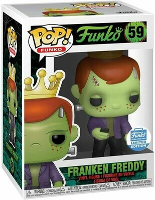 Funko Freddy - Franken Freddy Funko Pop Vinyl Limited Edition Exclusive​