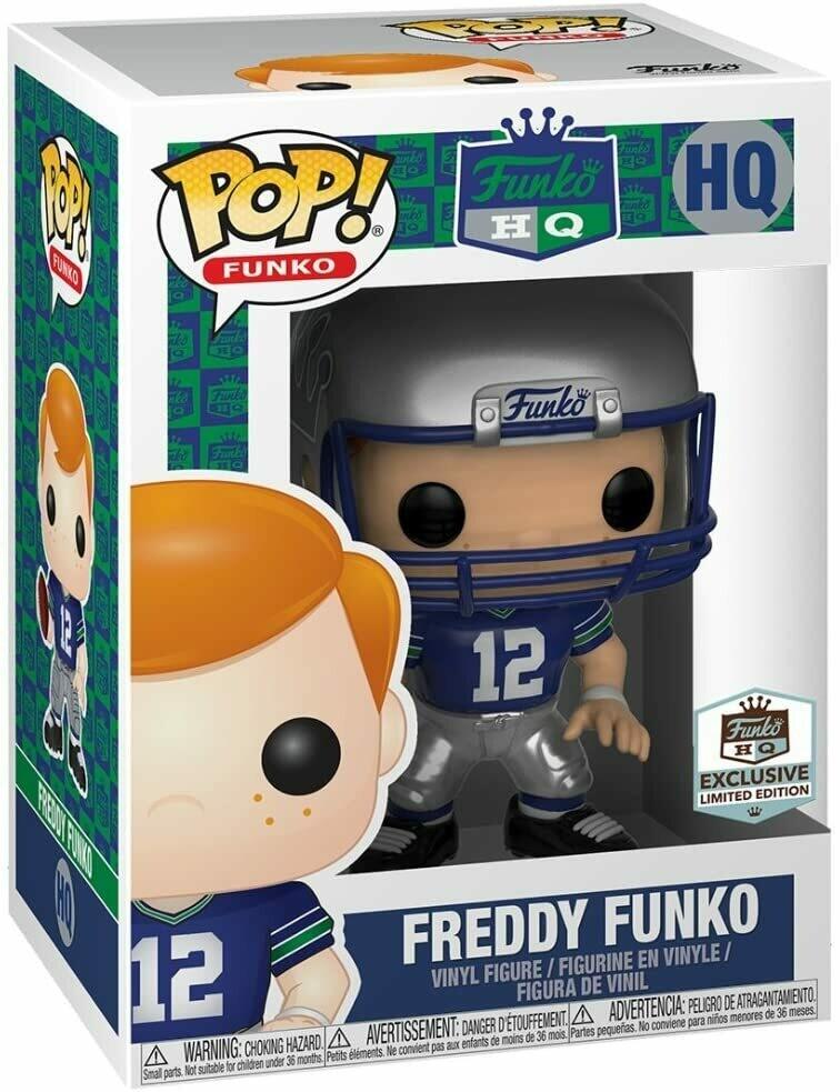 Pre-Order: Funko Freddy - Freddy Funko Football Throwback Seahawks Pop Vinyl Limited Edition Exclusive
