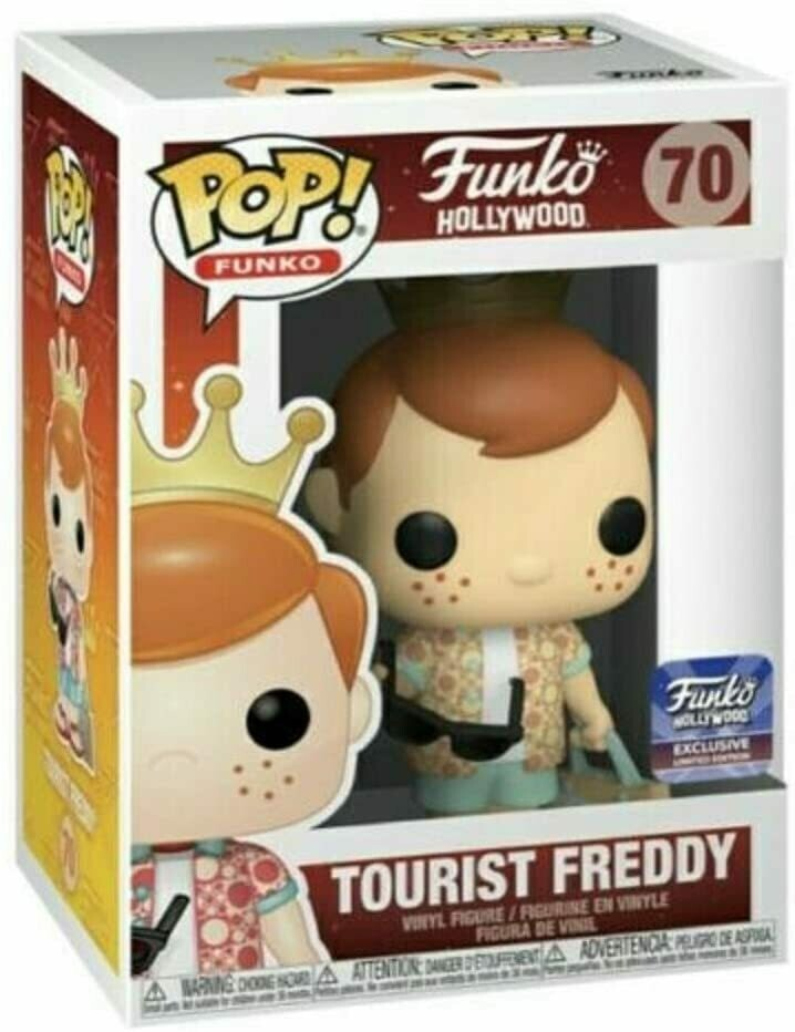 Funko Hollywood HQ Freddy - Tourist Freddy Funko Limited Edition Exclusive