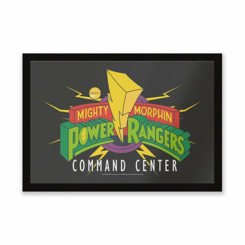 Mighty Morphin Power Rangers Command Center Entrance Mat