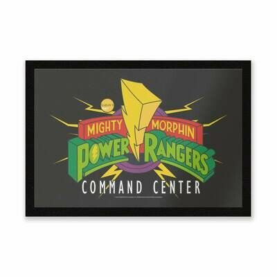 Mighty Morphin ​Power Rangers Command Center Entrance Mat​