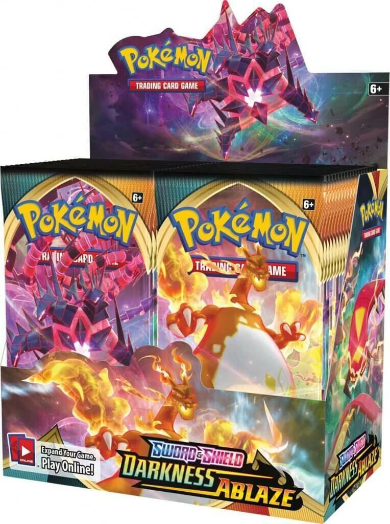Pre-Order: POKÉMON TCG Sword and Shield- Darkness Ablaze Booster- Single Pack