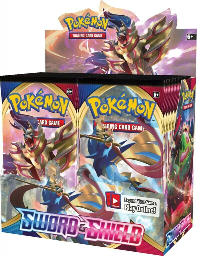 Pre-Order: POKÉMON TCG Sword and Shield Booster- Single Pack